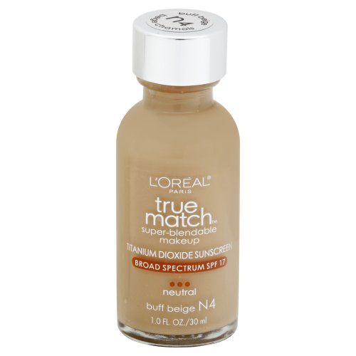 L'Oreal Paris True Match Super-Blendable Buff Beige #N4 Neutral Makeup 1.00 fl oz
