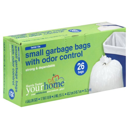 Small Garbage Bags : Ht yourhome garbage bags small odor control ct