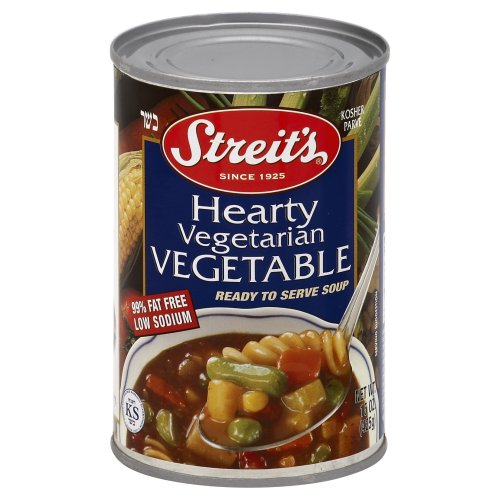 Streit's Ready To Serve Hearty Vegetarian Vegetable Soup