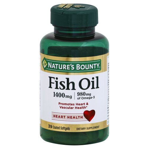 Nature 39 s bounty vitamins concentrated fish oil ct for Nature s bounty fish oil