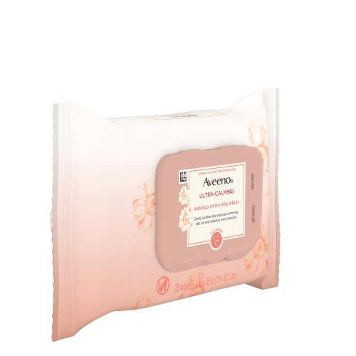 AVEENO Ultra-Calming Makeup Removing Wipes 25.00 ct