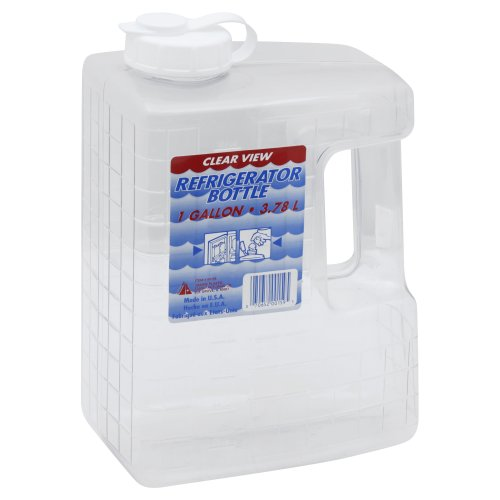 Arrow Plastic Manufacturing Company Clear View Refrigerator Bottle 1 00 Each Sku 070652001595
