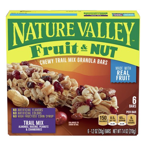 Fruit & Nut Chewy Trail Mix Granola Bars