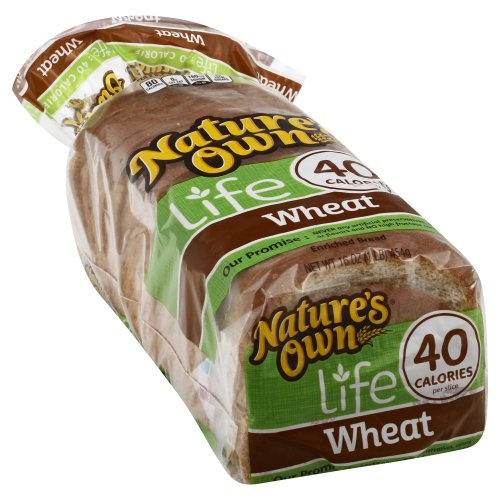 Natures Own 40 Calorie Wheat Bread 16