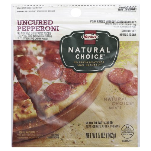 Natural Choice Uncured Pepperoni