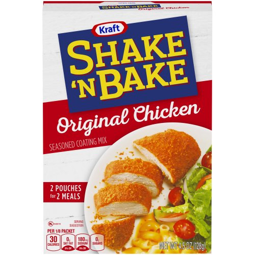 House autry in your oven seasoned coating mix pork for Shake n bake fish