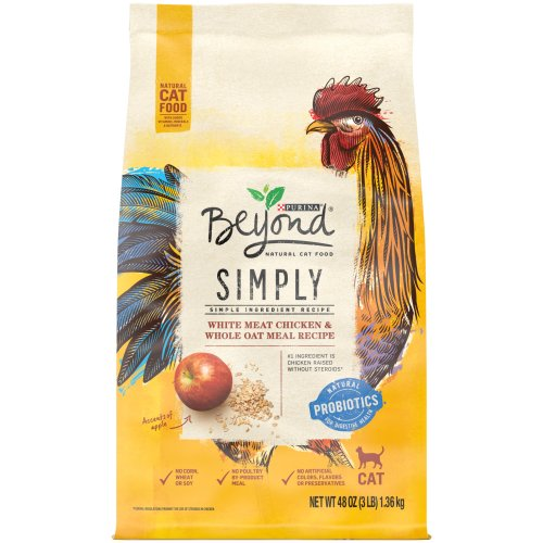 Purina Beyond Cat Food >> Purina Beyond Dry Cat Food Simply White Meat Chicken Whole Oat