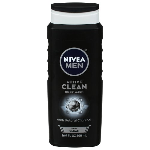 Nivea For Men - Active Clean Natural Charcoal Bodywash 16.90 fl oz