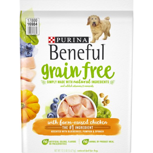 Purina Beneful Grain Free Dry Dog Food With Real Farm Raised Chicken