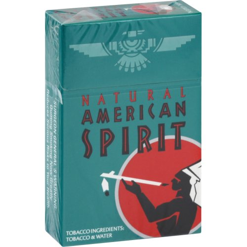 American Spirit Menthol Dark Green 85 Box 20.00 each Harris Teeter