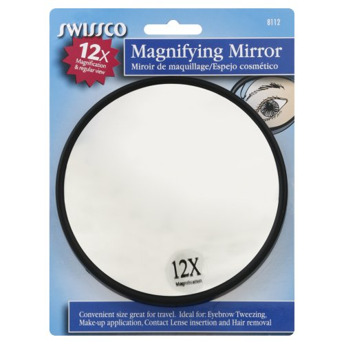 Suction Cup Mirror 12x