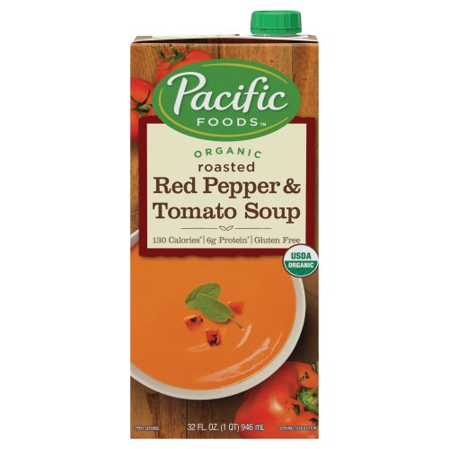 Pacific foods organic creamy roasted red pepper tomato for Roasted pepper tomato soup