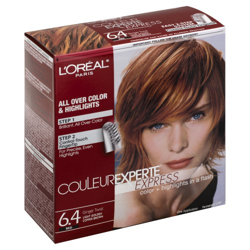 l 39 oreal paris couleur experte express red ginger twist 6 4 hair color ct harris teeter. Black Bedroom Furniture Sets. Home Design Ideas
