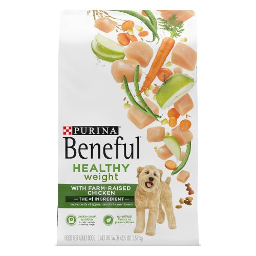 Purina Beneful Healthy Weight Dry Dog Food With Real Chicken 35 Lb