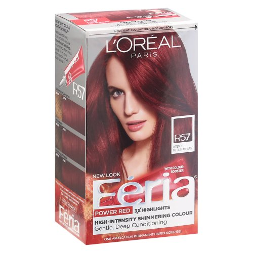 Intense Medium Auburn R57 Red Hair Color