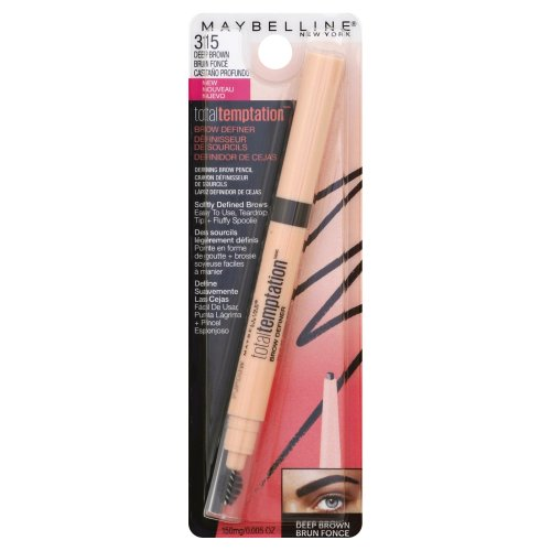 28798666c68 Maybelline Total Temptation Brow Definer 315 Deep Brown 1.00 ct ...