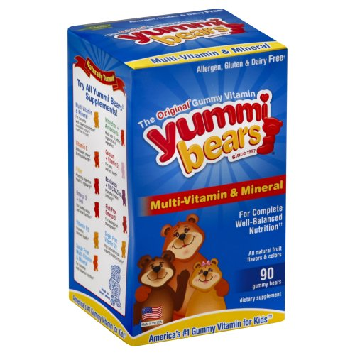 Yummi Bear's Gummy Bears - Multi-Vitamin & Mineral 90.00 ct