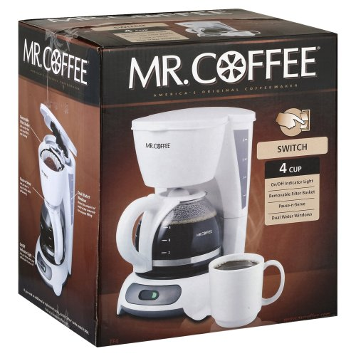 how to use mr coffee 4 cup coffee maker