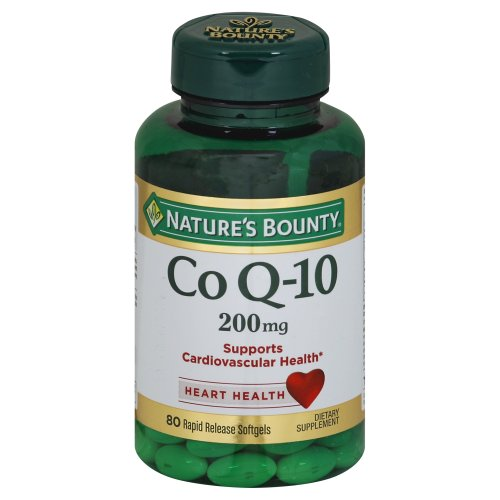 Nature 39 s bounty coenzyme q10 20 ct harris teeter for Nature made fish oil pearls