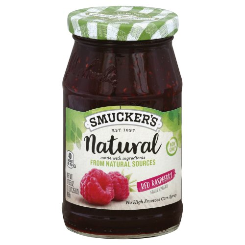 Smucker S Natural Strawberry Fruit Spread Nutrition