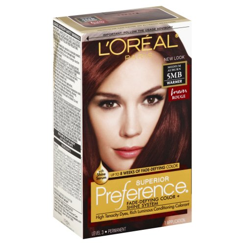 Superior Preference Forever Rouge Warmer 5MB Medium Auburn Hair Color 1.00  each