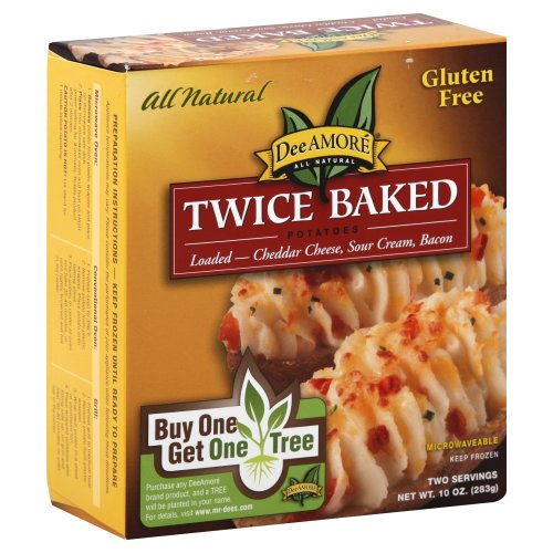 Dee Amore Twice Baked Potatoes Loaded 10 00 Oz Harris Teeter